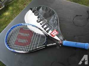 Wilson tennis racket - $15 (Brodhead)