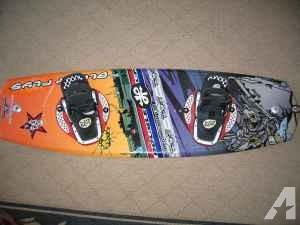 Badass! wakeboard and bindings - $250 (Truckee)