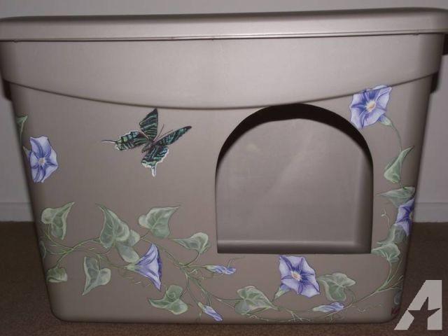 New Custom Designed Decorative Litter Boxe