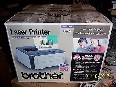 Laser Printer Hl-2170w Wireless Network and Ethernet 23 Page