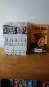 Benny Hill Vhs Tape Set/1 Extra (Wellington)