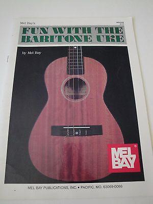 Mel Bay's FUN WITH THE BARITONE UKE Instructional Book 1961
