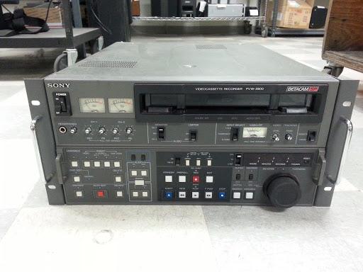 Sony PVW-2800 Betacam SP Studio Editing VCR Video Cassette
