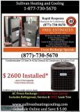 HVAC ndash FREON Affordable Heating Furnace and Boiler Repair o