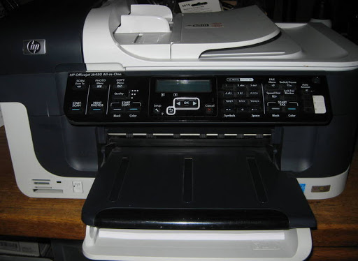 HPOfficeJet J6450 All-In-One Inkjet Printer UVGC 3772 Page