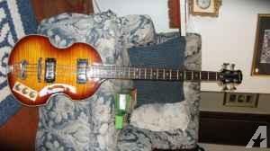 Viola Bass- 100 watt amp- effect pedal - $400 (N.Medford)