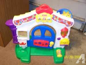 Fisher price musical & educational playhouse - $15 (pointplace)