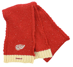 Detroit Red Wings Winter Classic Reebok Womens Knit Scarf OSFA