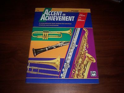 Accent on Achievement - Percussion - Book 1