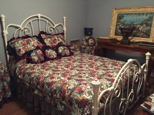 Bedding Set - Queen with sheets, bedspread, shams, dust ruffle & more (Ashland