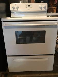 Kenmore Electric Stove - White (New Albany, IN)