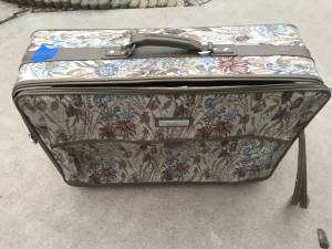 3 pc set of Jordache Brocade Tapestry Luggage