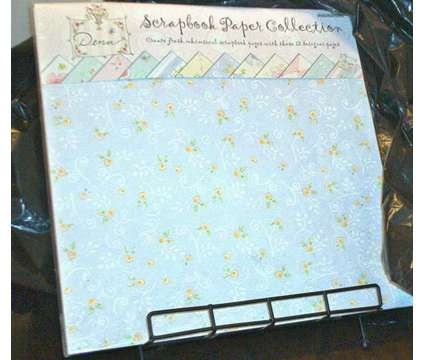 Unopened Package of Scrapbook Paper w/12 sheets