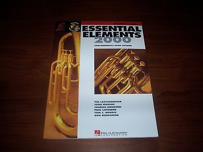 Essential Elements 2000 - Baritone T.C. - Book 2 - Includes