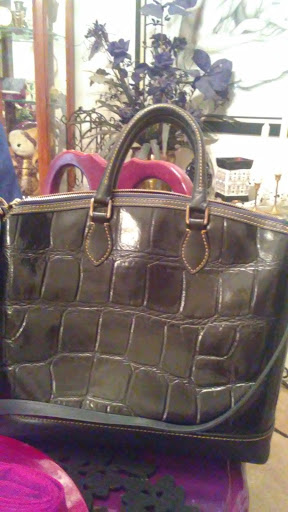dooney burke hand bag and wallet