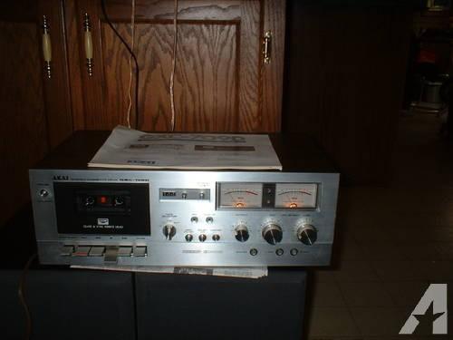Akia Stereo Cassette Deck Gxc-709d