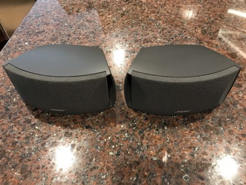 Bose 321 Satellite Speakers 3 2 1 Cinemate Graphite Black