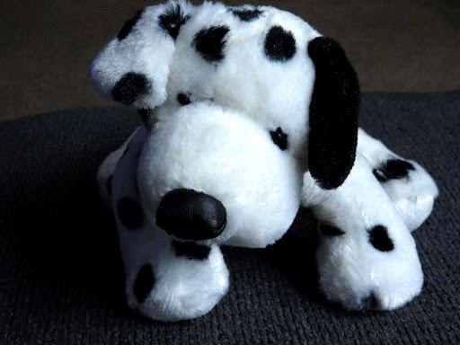 GANZ Dalmatian HM123 Black White Dog Plush Stuffed Animal