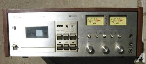 Teac a-480 cassette deck