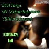 Brakes. Oil Changes. Rotors