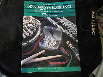 Standard of Excellence - Baritone B.C. - Book 3