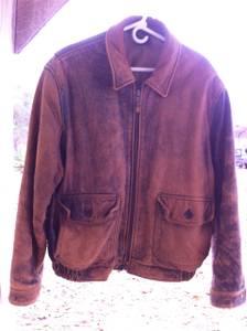 lambskin coat (Elizabethtown)