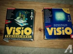 VISIO Computer software- mint - $5 (West End)