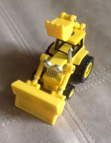 Learning Curve Bob The Builder Scoop Metal Diecast Toy Car