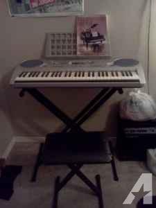 Used Yamaha PSR-275 Keyboard/Stand/Chair - $100 (32504)
