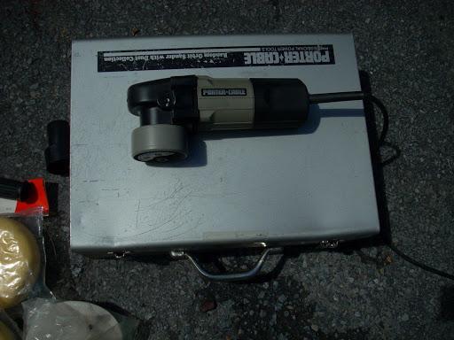 Porter Cable Sand Polisher Model 7336