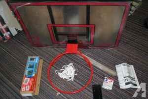 Spalding Universal backboard w/mount kit - $85 (Kalamazoo)