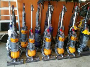 I want dyson vacuums, working or not. Refurbished ones for sale too.