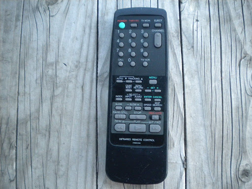 ORION BROKSONIC 07660CA030 TV VCR Black Remote Control WORKS