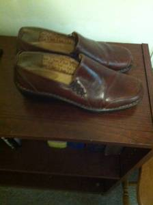 New Women's Shoes Size 10 1 Brown Pair & 1 Blue Pair Sofft Mules (MT.