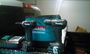 Makita 18v drill set (Brunswick)