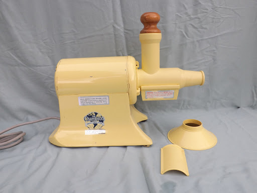 The Champion Worlds Finest Juicer Model G5-NG-853S Yellow