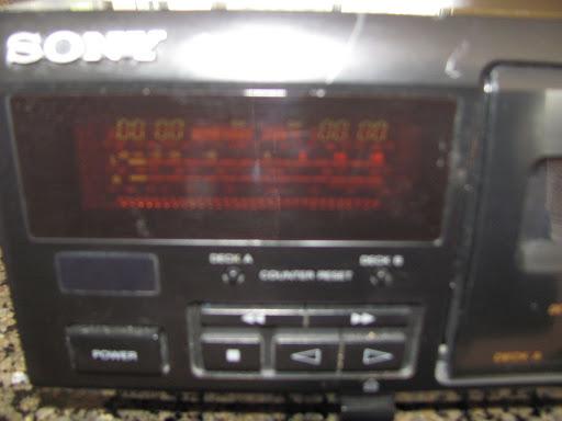 Sony TC-WE405 Vintage Dual Tape Cassette Deck Player