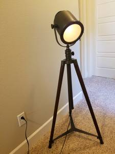 Pottery Barn Photographer's Tripod Lamp (SE 60th and Foster)
