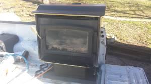 Propane stove (St. Joe)