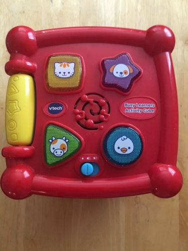 VTech Busy Learners Activity Cube Educational Toy For Your