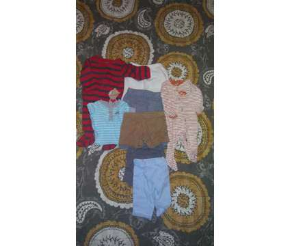 8 pieces boy clothes 0-3 months