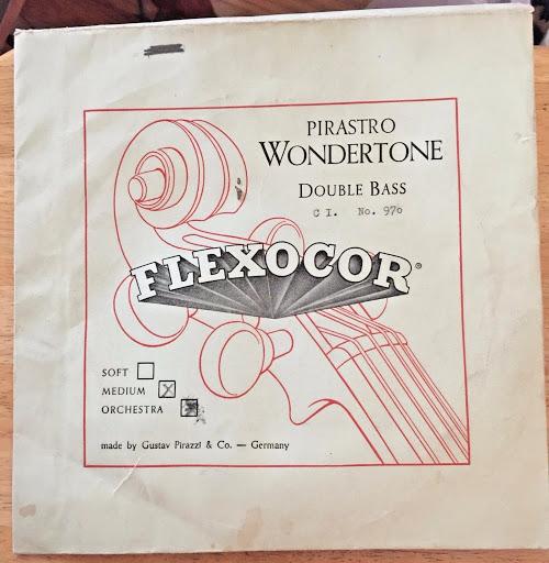 One Vintage Pirastro Wondertone