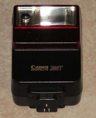 Canon Speedlite 244T 35mm Film Camera Flash: Perfect