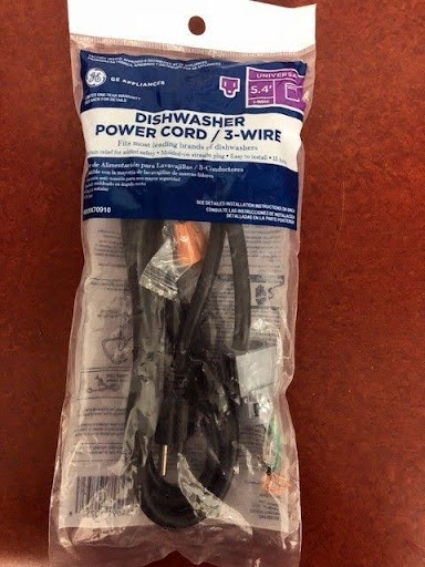 GE Appliances Dishwasher Power Cord 3 wire Brand NEW
