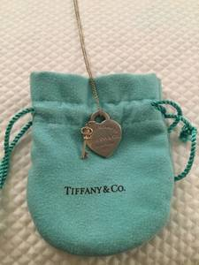 Tiffany & Co. Heart Key Necklace