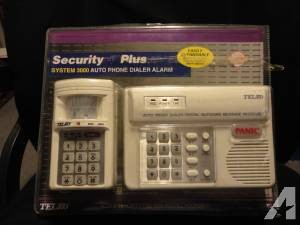 Telco Home Security System 3000 Auto Phone Dialer System New -