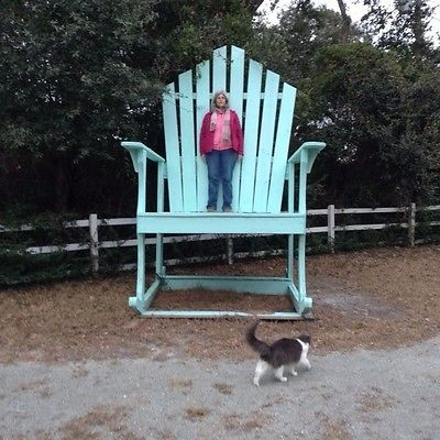 Outdoor Giant Rocking Chair