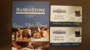 Hand and Stone Gift Cards (Doylestown)