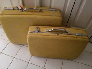 Vintage American Tourister Luggage (Horn Lake)