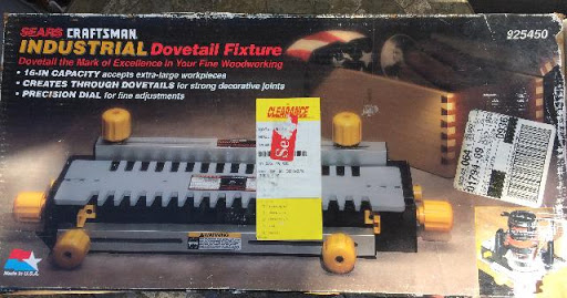 New Dovetail & Molding Maker Router Jigs